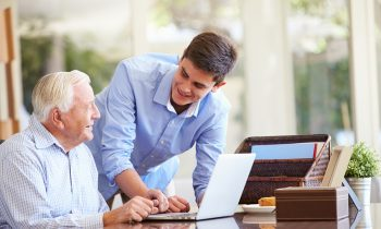 Getting Aging Parents Up to Speed About Computers