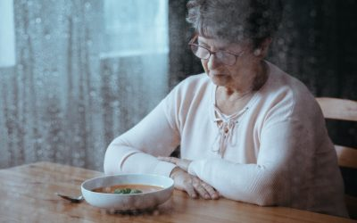 Four Reasons Your Senior May Not Care about Food Right Now