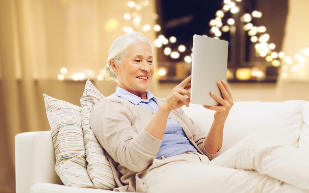 Does Your Elderly Loved One Have Vision Loss? Technology Might Help.